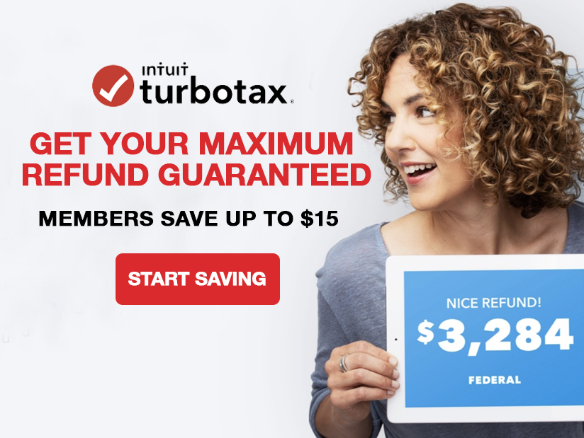 Avadian Members Can Save Up To $15 On TurboTax